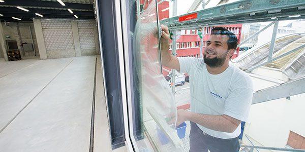 wir putzen Ihre Fenster in Zürich streifenfrei