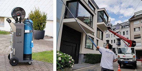 als einier der wenigen Reinigungsfirmen bieten wir das Puraqleen System in der Schweiz